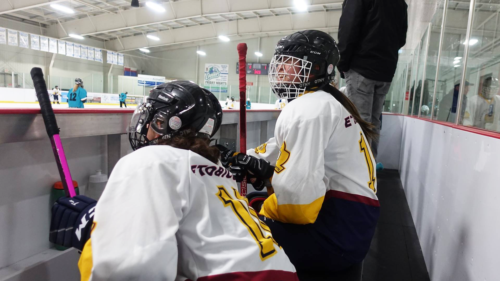 Ringette Players Smile